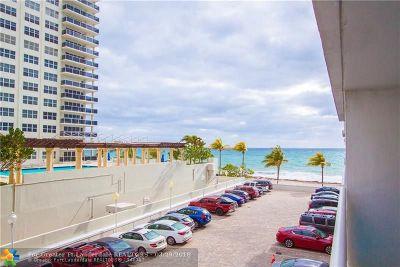 Fort Lauderdale Condo/Townhouse For Sale: 3430 Galt Ocean Drive #303