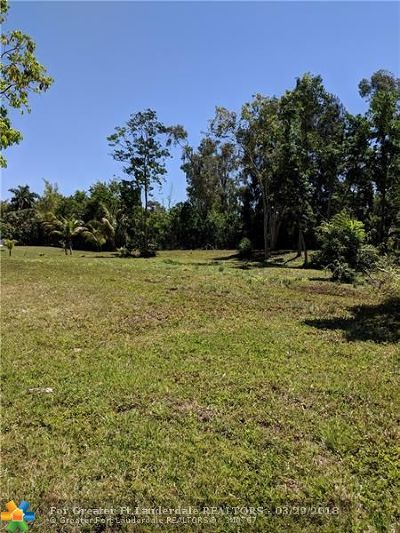 Plantation Residential Lots & Land For Sale: 11650 NW 20th St