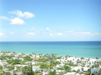 Fort Lauderdale Condo/Townhouse For Sale: 2841 N Ocean Blvd #806