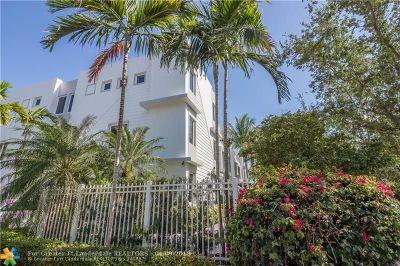 Fort Lauderdale Condo/Townhouse For Sale: 306 NE 8th Av #306