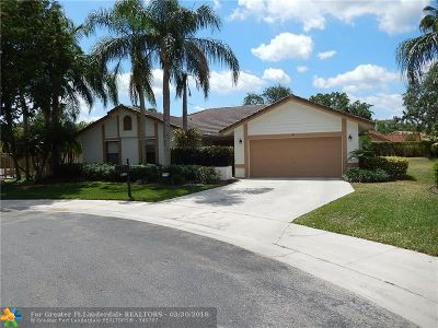 Weston Single Family Home Backup Contract-Call LA: 1580 Eastlake Way