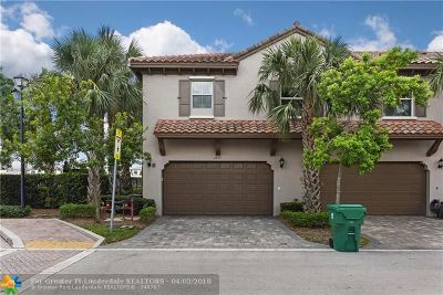 Cooper City Condo/Townhouse Backup Contract-Call LA: 4257 Cascada Cir #4257