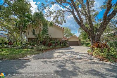 Coral Springs Single Family Home For Sale: 10120 Vestal Ct