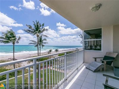 Lauderdale By The Sea Condo/Townhouse Backup Contract-Call LA: 5200 N Ocean Blvd #402A