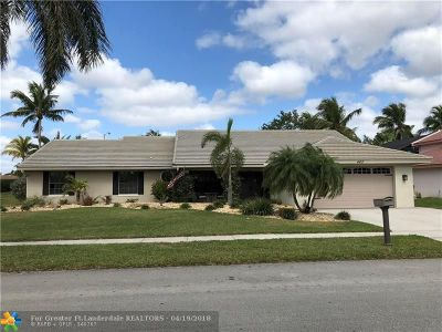 Pembroke Pines Single Family Home For Sale: 460 NW 195th Ave