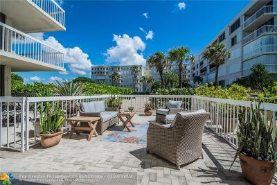 Palm Beach Condo/Townhouse For Sale: 3250 S Ocean Blvd #105S