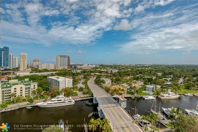 Fort Lauderdale Condo/Townhouse For Sale: 600 W Las Olas Blvd #1501S