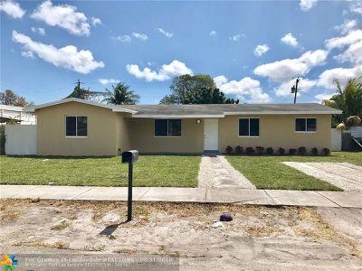 Miami Single Family Home Backup Contract-Call LA: 722 NW 140th Ter