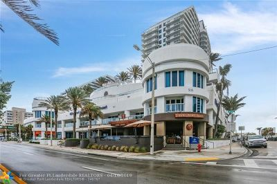 Fort Lauderdale Condo/Townhouse For Sale: 505 N Fort Lauderdale Beach Blvd #224