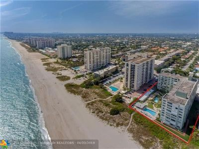 Pompano Beach Condo/Townhouse For Sale: 1850 S Ocean Blvd #206