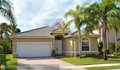 Coral Springs Single Family Home For Sale: 4730 NW 119th Ave