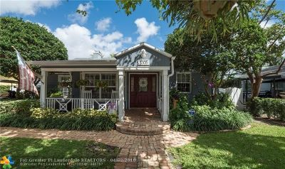 Fort Lauderdale Single Family Home For Sale: 1005 SE 6th Ct