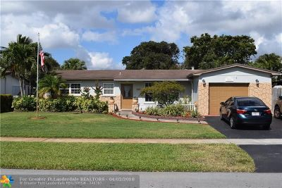 Pembroke Pines Single Family Home For Sale: 2400 NW 82 Ave