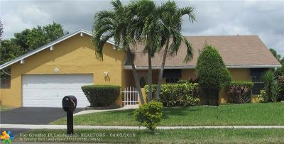 Lauderhill Single Family Home For Sale: 8431 NW 47th Pl