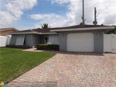 Fort Lauderdale Single Family Home Backup Contract-Call LA: 6300 NW 31st Way