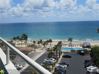 Condo/Townhouse For Sale: 4050 N Ocean Dr #701