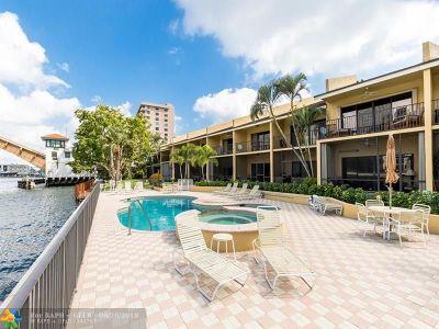 Pompano Beach Condo/Townhouse For Sale: 1301 N Riverside Dr #11