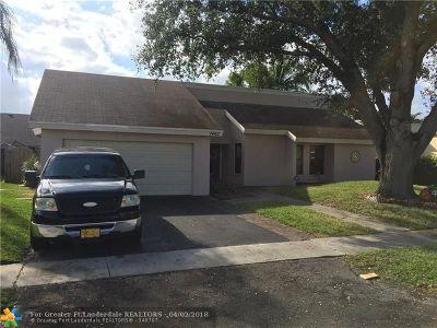 Lauderhill Single Family Home Backup Contract-Call LA: 7460 NW 35th Ct