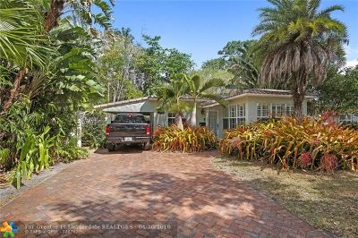 Fort Lauderdale Single Family Home Backup Contract-Call LA: 609 SW 18th St