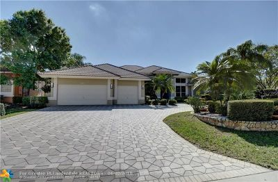 Coral Springs Single Family Home For Sale: 1711 NW 124th Way