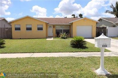 Boca Raton Single Family Home Backup Contract-Call LA: 8966 SW 7th St