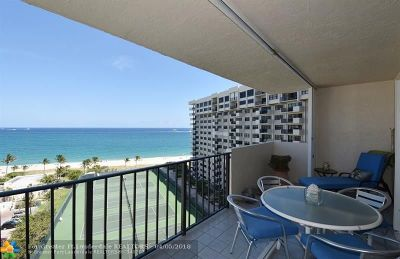 Lauderdale By The Sea Condo/Townhouse For Sale: 5100 N Ocean Blvd #1218