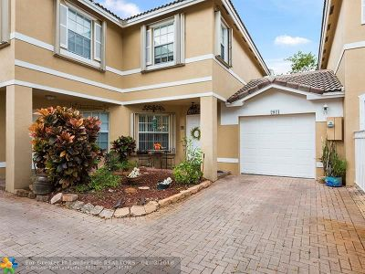 Sunrise FL Condo/Townhouse Backup Contract-Call LA: $255,000
