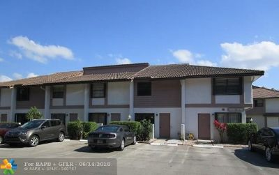 Broward County Condo/Townhouse For Sale: 9800 NW 14th Street #5