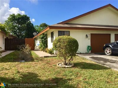 North Lauderdale Single Family Home Backup Contract-Call LA: 6514 Harbour Rd