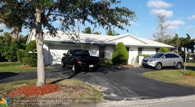Coral Springs Single Family Home For Sale: 8531 NW 27th Dr