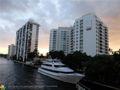 Fort Lauderdale Condo/Townhouse For Sale: 2670 E Sunrise Blvd #803