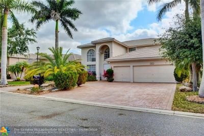 Coral Springs Single Family Home For Sale: 5852 NW 54th Circle