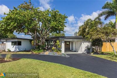 Wilton Manors Single Family Home For Sale: 2829 NE 17th Ave
