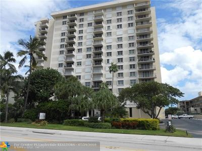Lauderdale By The Sea Condo/Townhouse For Sale: 1900 S Ocean Blvd #14P