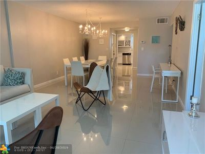 Hallandale Condo/Townhouse For Sale: 3181 S Ocean Dr #108