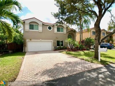 Cooper City Single Family Home Backup Contract-Call LA: 2590 Rampart Way N