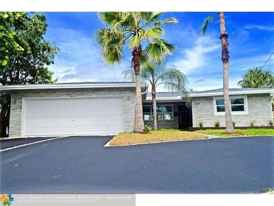 Wilton Manors Single Family Home For Sale: 2164 NE 25th St