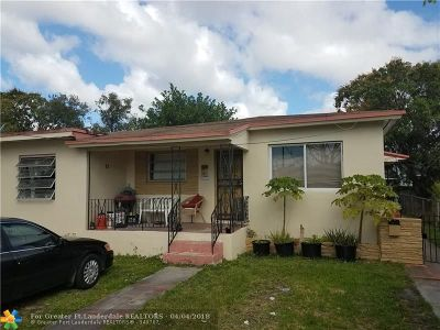 Miami Multi Family Home For Sale: 1447 NW 37th St