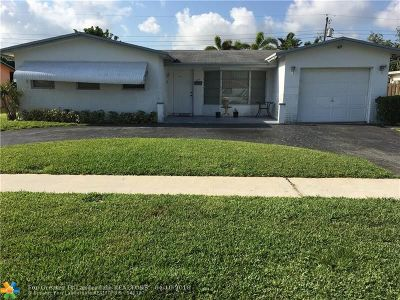 Lauderhill Single Family Home For Sale: 4810 NW 17th Street