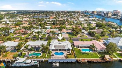 Pompano Beach Single Family Home For Sale: 2780 NE 7th St