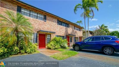 Wilton Manors Condo/Townhouse Backup Contract-Call LA: 2134 NE 9th Ave #2134