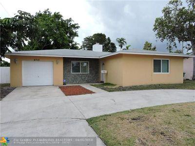 Lauderhill Single Family Home Backup Contract-Call LA: 4710 NW 18th Ct