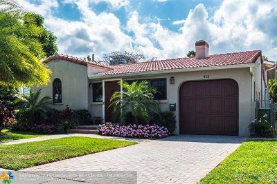 Fort Lauderdale Single Family Home For Sale: 413 NE 9th Ave