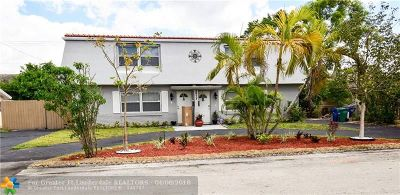 Coral Springs Multi Family Home Backup Contract-Call LA: 3817 NW 78th Ter