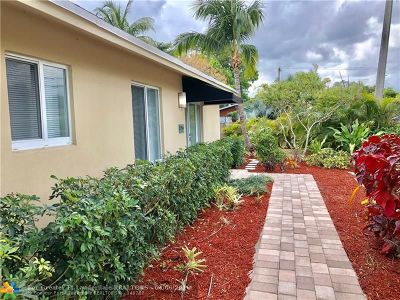 Wilton Manors Rental For Rent: 2730 NE 6th Ln