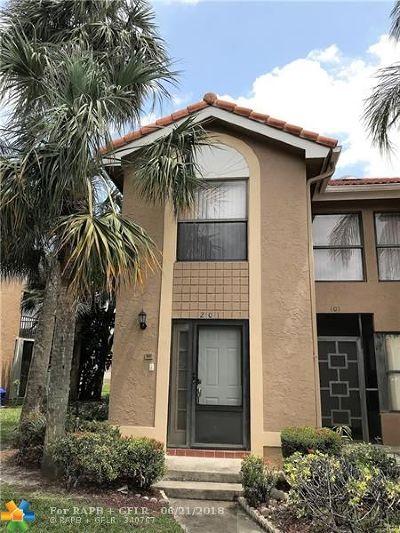 Boca Raton FL Condo/Townhouse For Sale: $169,000