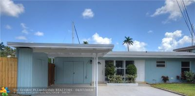 Fort Lauderdale Single Family Home For Sale: 1512 SW 19th Ave