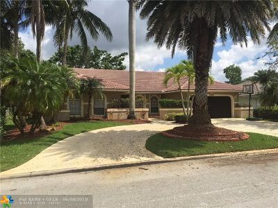 Coral Springs Single Family Home For Sale: 12091 NW 2nd Dr
