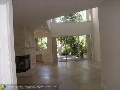 Fort Lauderdale Condo/Townhouse For Sale: 1610 NE 1st St #8