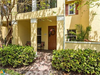 Coconut Creek Condo/Townhouse For Sale: 4760 Mimosa Pl #1009
